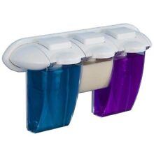 Dispensador de jabón gel Champú dosificador de pared triple tipo gaudi