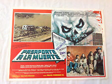 RARE VINTAGE MEXICAN MOVIE POSTER 1988 Pasaporte a la Muerte Ismael Rodriguez