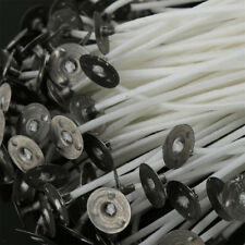 50pcs Wick Candles Cotton with Holders For Candle Making 15cm Hot Selling
