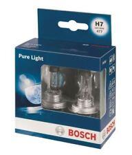 2x Bosch H7 (477/499) Car Headlamp Bulb 12V fits Vauxhall Meriva Mk Ii (B) 2010
