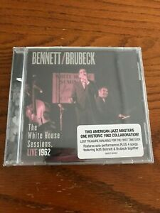 The White House Sessions: Live 1962 by Dave Brubeck/Tony Bennett NEW SEALED CD