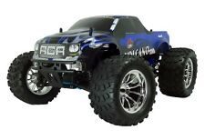 1:10 Volcano S30 RC Nitro Monster Truck 4WD Off Road 2.4GHz Blue New