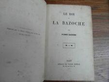 Pierre ZACCONE / LE ROI DE LA BAZOCHE Arnauld de Vresse Circa. 1858