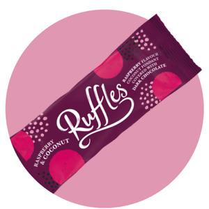 🥥VALEO - JAMESONS 6 RASPBERRY RUFFLES Coconut Dark Chocolate Stocking Filler
