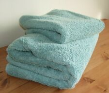 PALE GREEN SOFT BATH SHEET & HAND TOWEL