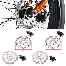Delantero / Trasero Freno de Disco Mecánico 160mm para MTB Bicicleta de Montaña