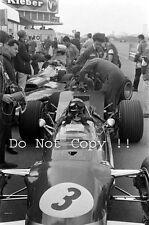 Graham Hill Gold Leaf Team Lotus 49B Dutch Grand Prix 1968 Photograph 1