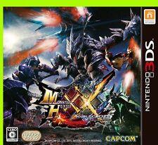 Monster Hunter double cross x 3ds game soft W Japan ver. Nintendo