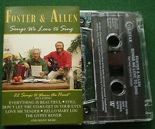 Foster & Allen Songs We Love to Sing inc Love Me Tender + Cassette Tape - TESTED