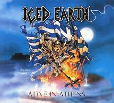 - Alive in Athens Iced Earth 3 CD LTD DIGIPAK -