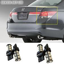 LED Tail Light Bulb Upgrade for Honda Accord 4D 2008-2012 (4pcs Stop Brake Back)