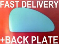 FORD COUGAR 1998-2001  DOOR WING MIRROR GLASS FLAT RIGHT OR LEFT +PLATE
