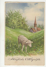 Herzliche Ostergruesse Easter Greetings Germany 1934 Postcard Us004