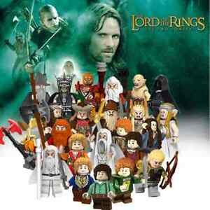 Lord Of The Rings The Hobbit Action Mini Figures Collectibles Models Gandalf