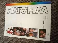 """(TBEBK69) ADVERT/POSTER 11X8"""" WHAM! - THE FINAL"""