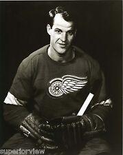 Greatest Photo Of Gordie Howe Detroit Red Wings Gordie Howe in Hockey Uniform