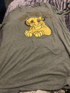Disney/Primark Lion King Nightdress - Size Xl (18-20)