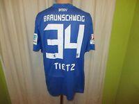 """Eintracht Braunschweig Nike Matchworn Trikot 2015/16 """"SEAT"""" + Nr.34 Tietz Gr.XL"""