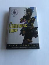 THE LIGHTNING THIEF Rick Riordan SIGNED TRUE FIRST PRINT 1st/ 1st UNREAD NF/ NF