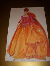 SYMPHONY IN CHIFFON BARBIE DOLL, ROBERT BEST AUTOGRAPHED LITHOGRAPH ONLY!