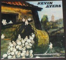 KEVIN AYERS whatevershebringswesing EUROPE CD new BONUS TRACKS the soft machine