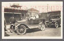 AUTO DE ÉPOCA foto modelo altura FORD & 1924 Hudson AUTOMOBILE LOVE Nido Signo