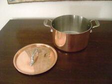 NEW All-Clad COPPER 4 qt. Dutch Oven-Casserole-Stockpot-Stove-Oven-Table-