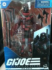 Hasbro GI Joe Classified RED NINJA 6in NEW GIJoe