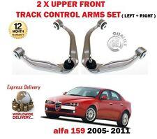 FOR ALFA ROMEO 159 2005-2011 NEW 2X FRONT SUSPENSION UPPER TRACK CONTROL ARM SET