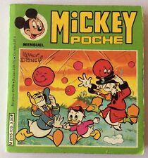 MICKEY POCHE n° 109 de Mai 1983 Album BD Walt Disney