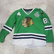 ULTRA RARE AUTHENTIC REEBOK MARIAN HOSSA ST PATRICKS STANLEY CUP JERSEY SIZE 48!