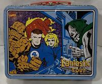 ORIGINAL Vintage 1998 Marvel Fantastic Four Doctor Doom Metal Lunch Box