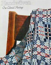 Handwoven magazine nov/dec 1982: colonial fabric, coverlets, holidays +