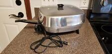 VINTAGE GE ELECTRIC SKILLET FRY PAN MODEL 331026