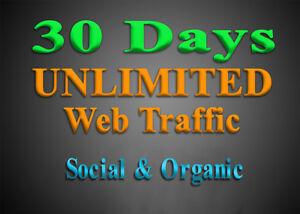 Organic & Social WEB TRAFFIC