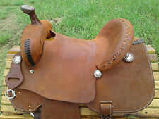"14"" Spur Saddlery Barrel Racing Saddle - Made in Texas"