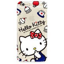 Hello Kitty iPhone 6 6s Schutz Hülle Handy Cover Case Tasche Motiv Bump TPU #1