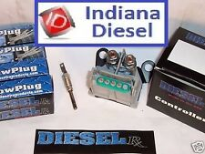 CHEVY / GMC 6.2/6.5L GLOW PLUGS (0050) & CONTROLLER COMBO (1005)