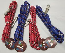 Rope Dog Leash - 2 colors by Duke's Pet Products - Designed in the U.S.A
