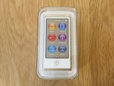 Apple iPod Nano 16Gb Gold 7th Generation - New & Sealed