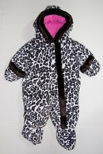 Girls Rothschild Baby Bunting Footsies Leopard Print Infant Size 6M to 9M NWT