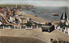 ARROMANCHES port winston vue générale tank char d'assaut