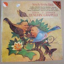 vinyl lp record STRICTLY FOR THE BIRDS Yehudi Menuhin + St. Grappelli , emd 5533