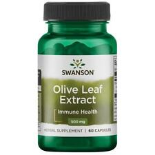 Swanson Superior Herbs Olive Leaf Extract 500mg 60 Capsules