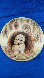 Hamilton Collection 'What's Up' by Pam Cooper ROYAL WORCESTER CROWN WARE