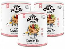 Augason Farms Buttermilk Pancake Mix 52 Oz 3 Pk Emergency Food Supply Prepper