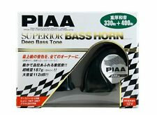 PIAA SUPERIOR BASS HORN 112dB(330Hz / 400Hz) Black 2 pieces HO-9 With Tracking