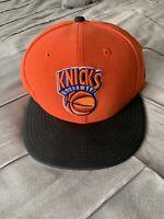 New York Knicks Snapback W Black Leather Brim ***BRAND NEW*** NEW ERA