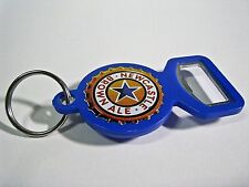 Newcastle Brown Ale Blue Beer Bottle Can Opener Key Chain - Very Cool!