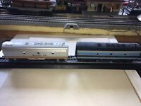MANTUA TYCO STFE & LIFELIKE/VARNEY/PENNLINE ? B&O F7/9B DUMMY B UNITS LOT OF TWO